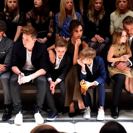 Victoria Beckham designing children's clothing collection inspired by Harper?