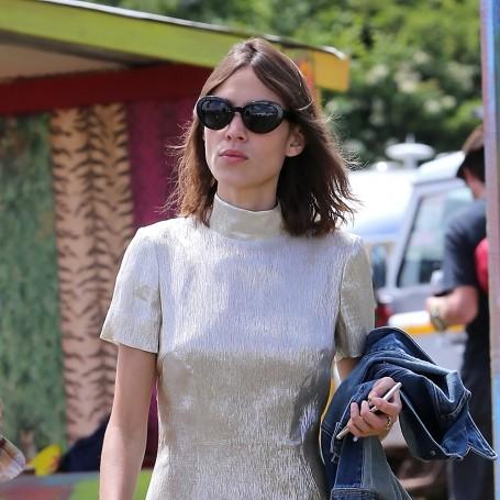 Celebrity festival fashion at Glastonbury 2015
