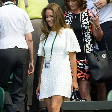 10 times Kim Sears taught us the rules of courtside dress