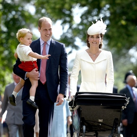 Everything you need to know about Princess Charlotte's christening