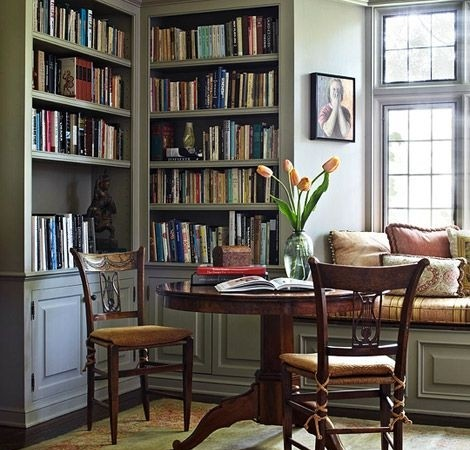 Fine The Literature Fiends Guide To Making A Home Library How To Largest Home Design Picture Inspirations Pitcheantrous