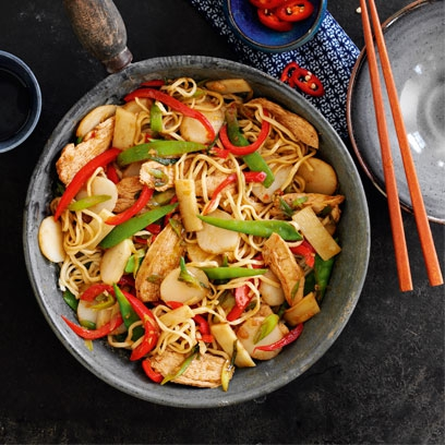 Chicken chow mein easy chicken recipes red online gareth morgans forumfinder