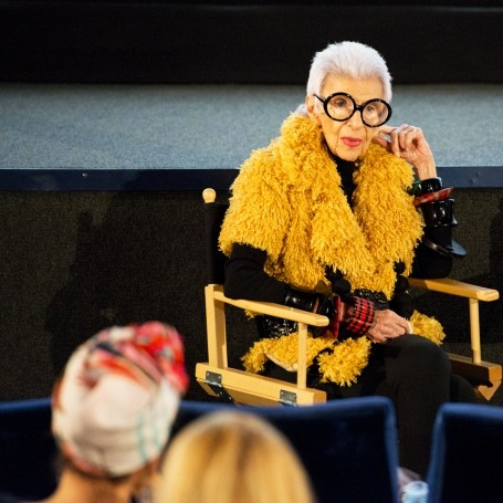 What happened when we met Iris Apfel