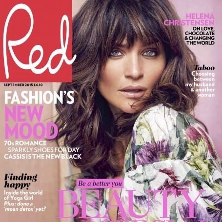 EXCLUSIVE: Helena Christensen is Red's September cover star