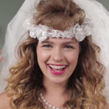 6 decades of bridal hairstyles in 2 minutes