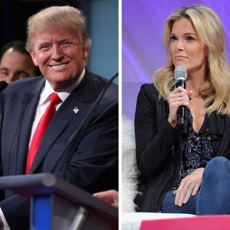 Image result for Megyn kelly and donald trump