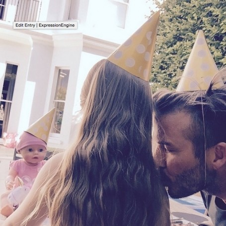 David Beckham shared the best birthday message to Victoria