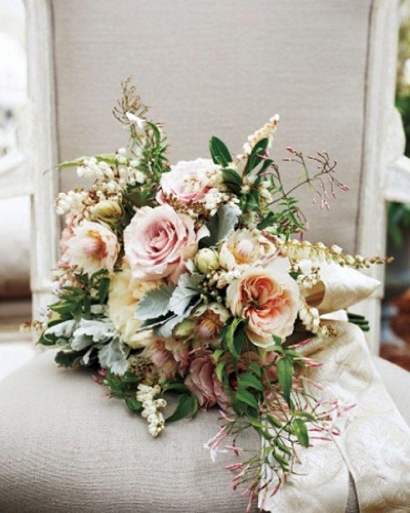 Fresh Flower Bridal Bouquets Online : Blake lively wedding pictures from martha stewart