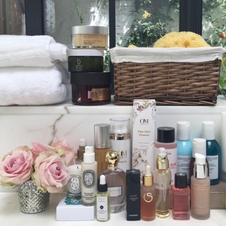 How to organise your beauty products