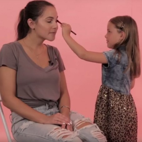  Watch what happens when three little girls helped women get ready for a first date