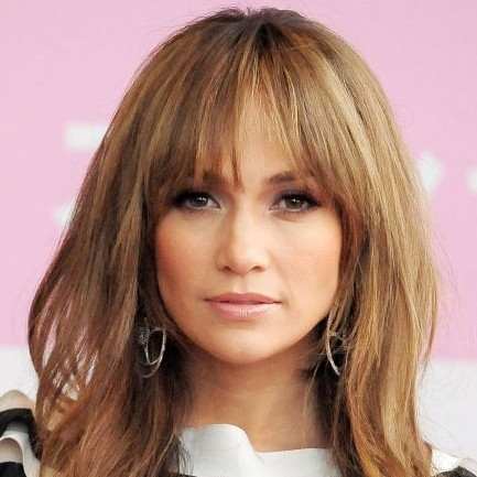 Celebrities with and without fringes