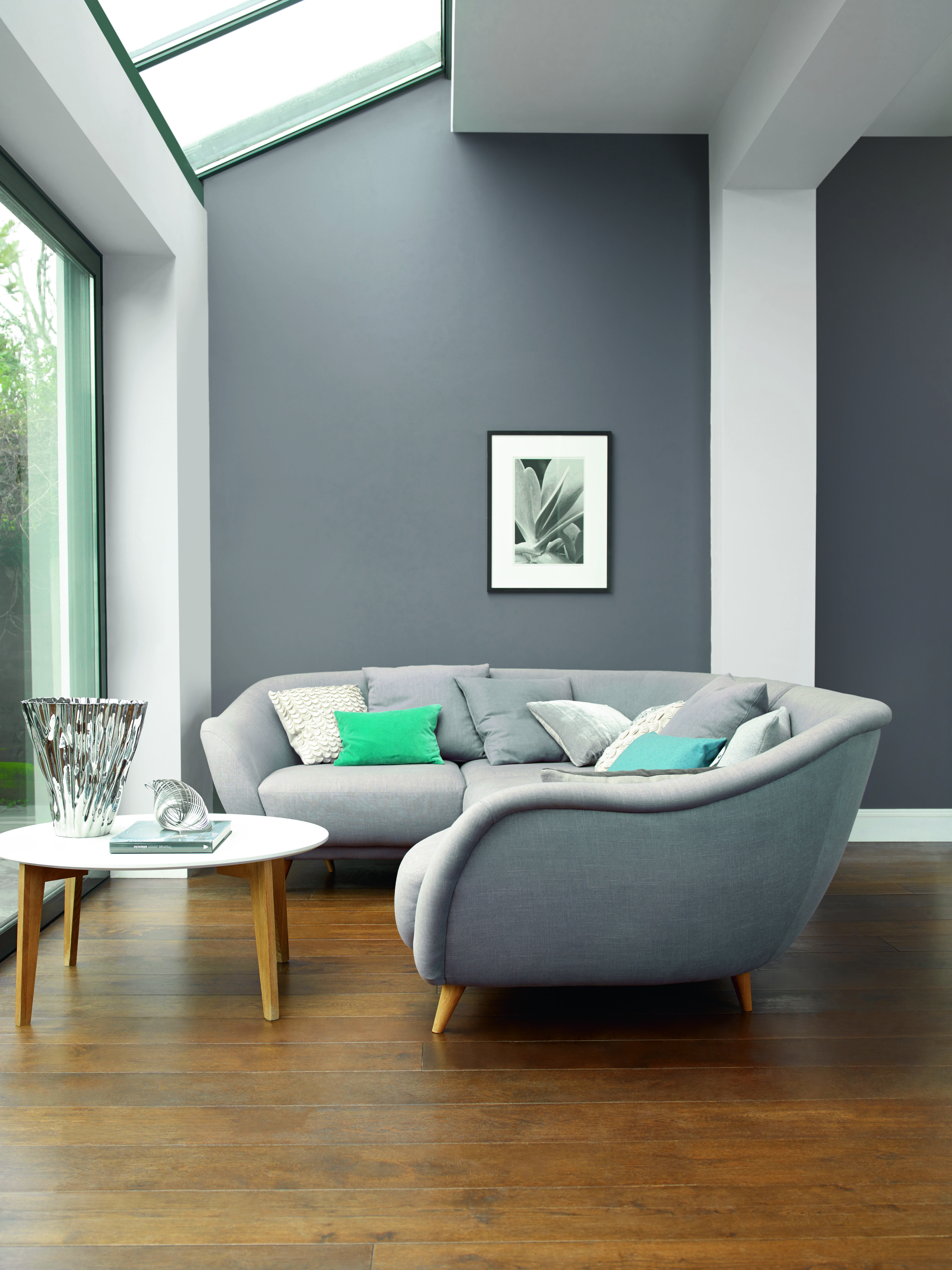 Paint Design For Living Room Walls: Beautiful Grey Rooms