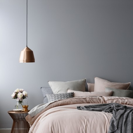 Walls Navy And Pale Pink Beautiful Rooms That Confirm Grey Is The Best Paint Colour Light