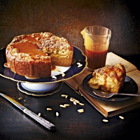 Salted Butter Caramel Magic Cake Magic Cake Recipes Red Online