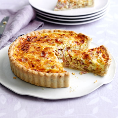 Quiche lorraine recipe from mary berry recipes food red online dk forumfinder Image collections