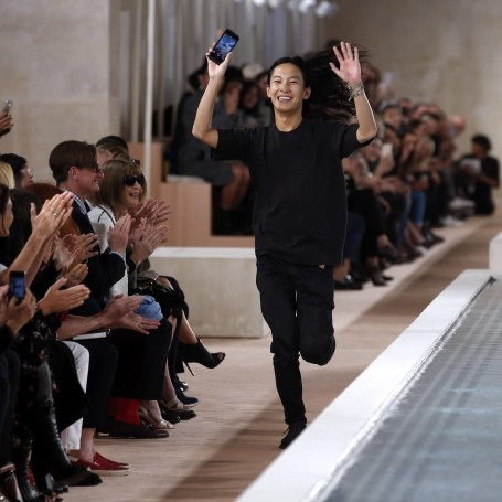 What happened at Alexander Wang's final Balenciaga show