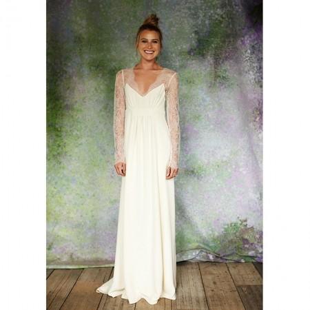 Savannah Miller Designs Wedding Dress For Stone Fox Bride