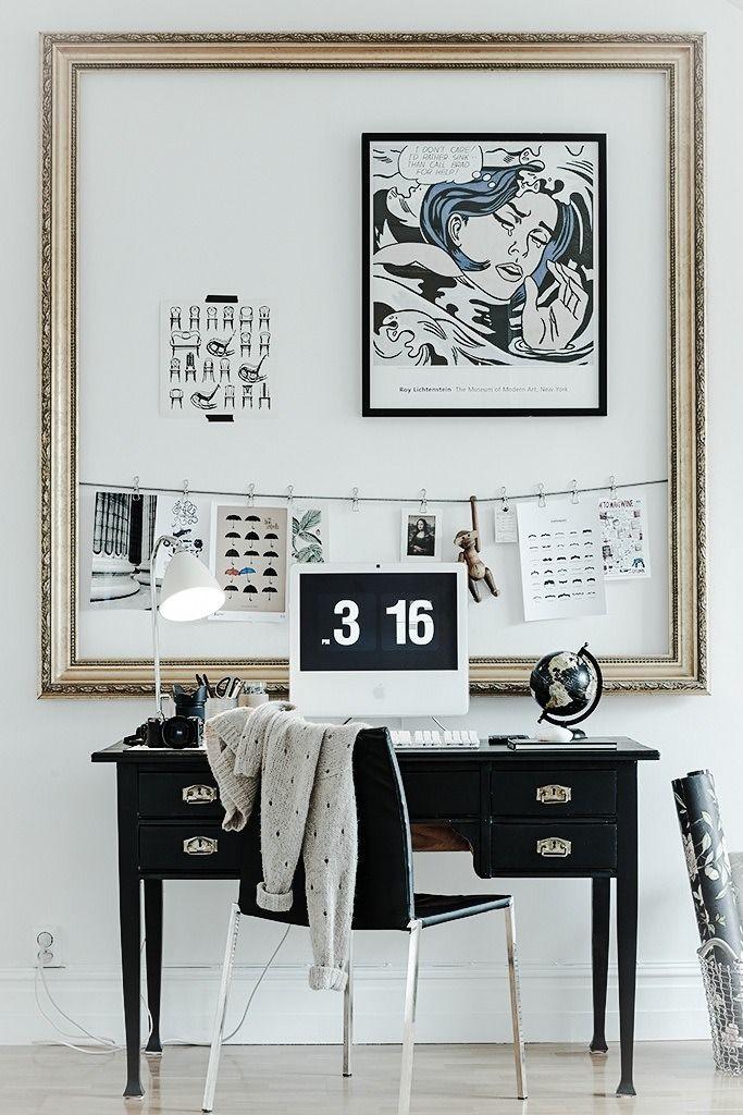 5 creative ways to display your artwork interiors for Creative ways to display artwork