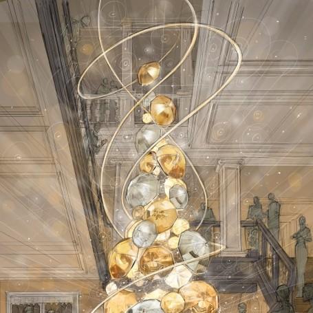 Burberry reveal this year's Claridge's Christmas tree