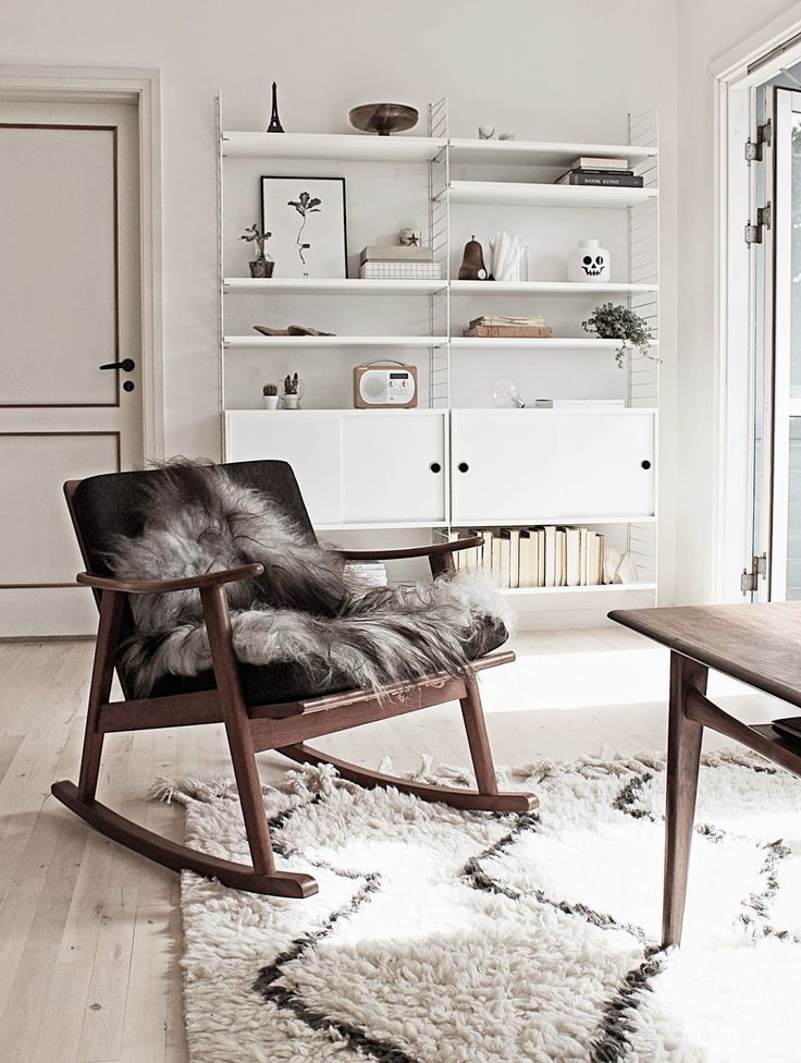 How To Rock A Faux Fur Rug In Your Home Interiors
