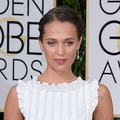 Alicia Vikander will be the next Lara Croft