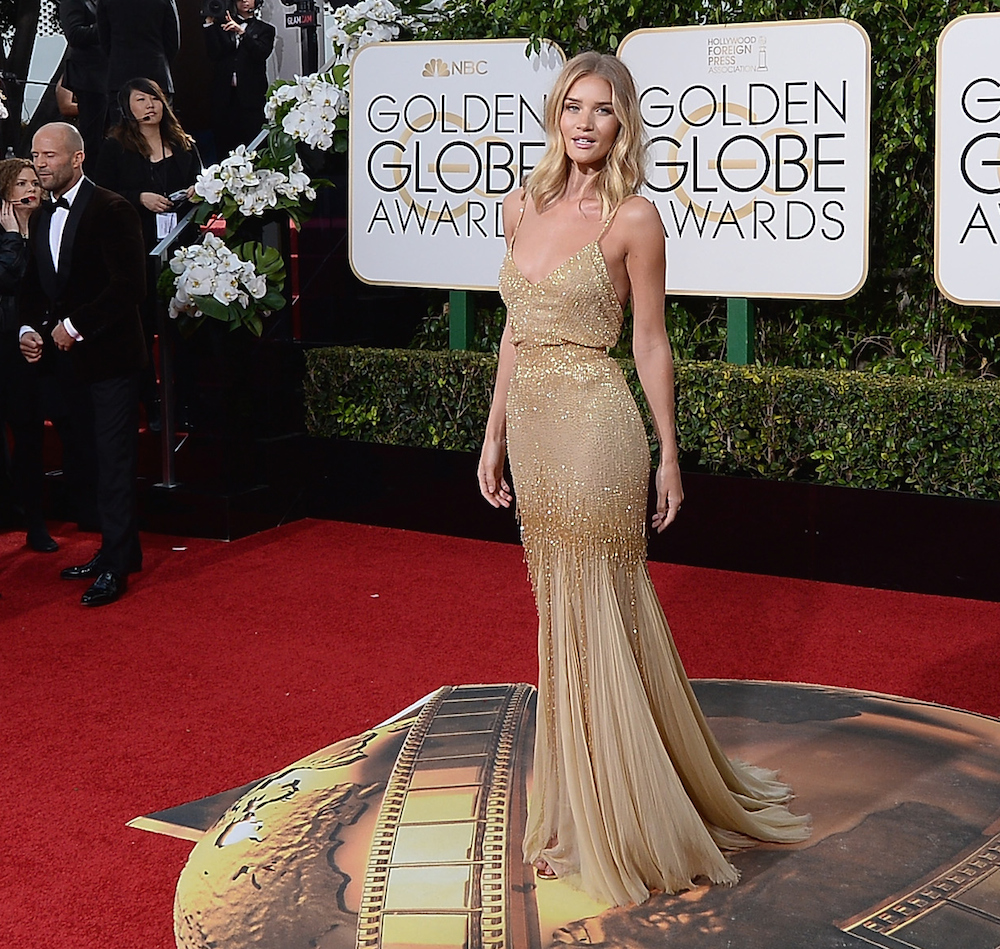 All the red carpet dresses at the golden globes 2016 red online - Golden globes red carpet ...