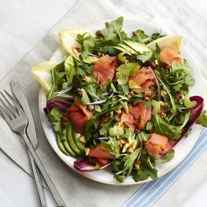 The Sirtfood Diet salmon super salad