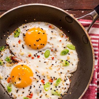 Asian eggs | Easy breakfast ideas - Red Online