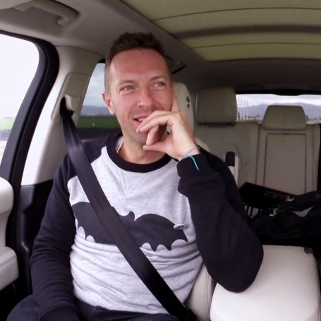 Watch Chris Martin's Carpool Karaoke with James Corden