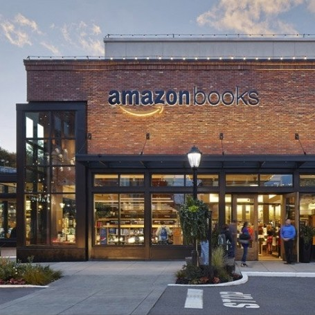 Amazon are opening real life book shops