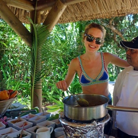 Watch: Tess Ward on how to cook Mauritian food