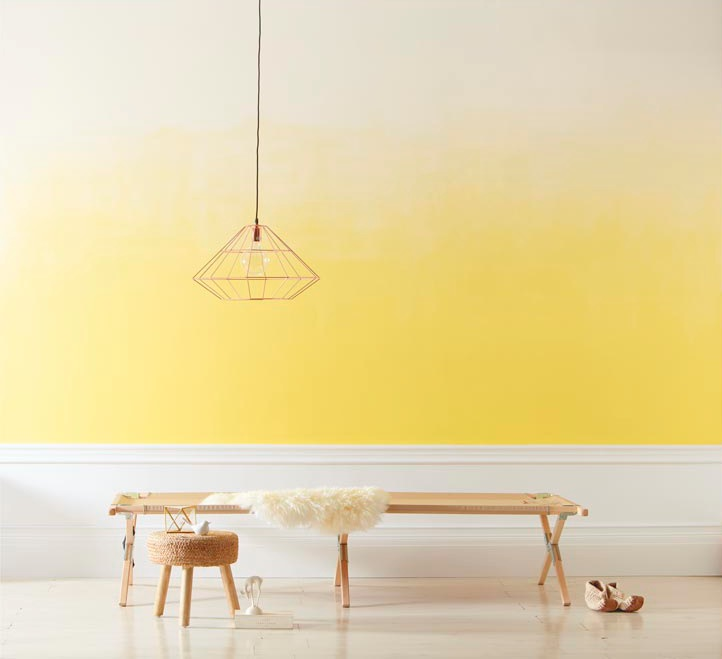 Wall Colour Inspiration: How To Paint An Ombre Wall