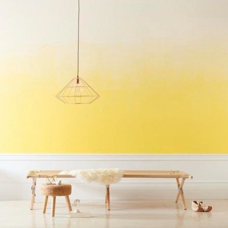 How To Paint An Ombre Wall Paint Inspiration Valspar Paints - Ombre wall painting technique