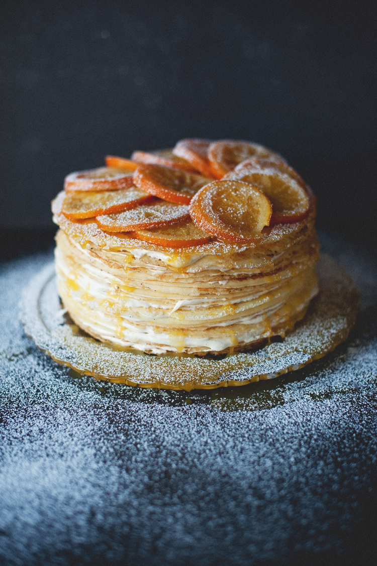 how to make crepe cake