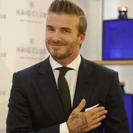 "David Beckham: ""I don't get told what to wear"""