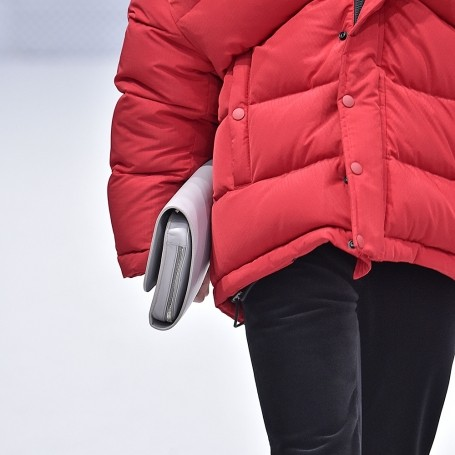 It's official: the puffer coat is back