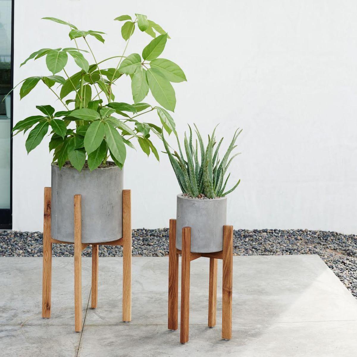 Stylish planters every home needs interiors what to - Pedestal para plantas ...