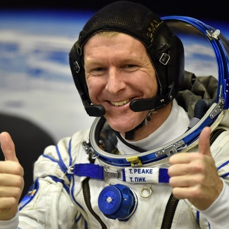 Tim Peake will run the London Marathon in space