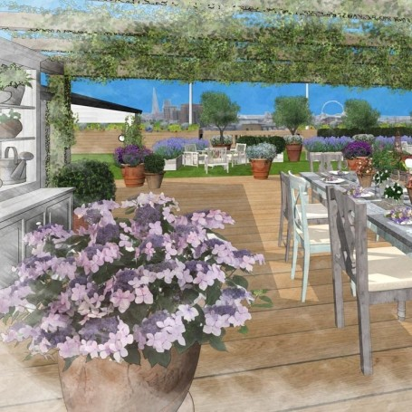 The outdoor terraces you'll be on all summer