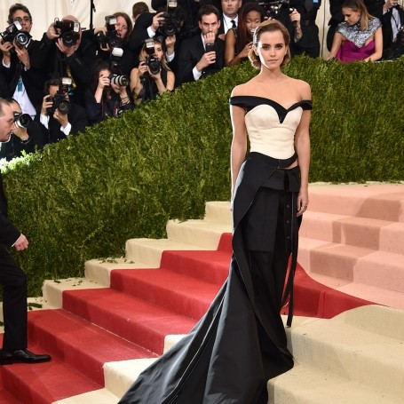 Why Emma Watson wore a dress made of rubbish