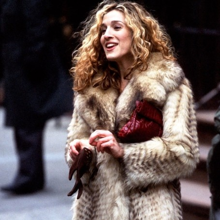 I wore Carrie Bradshaw's naked dress on a date