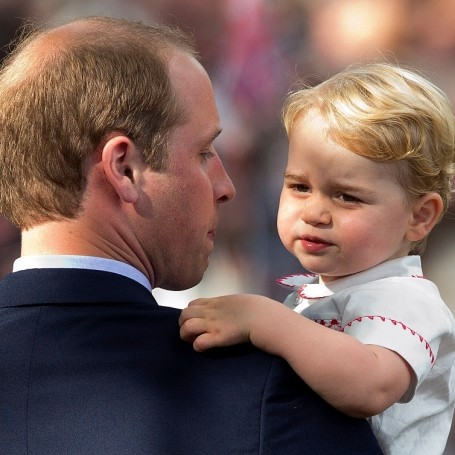 Prince William reveals his secret for putting baby George to sleep