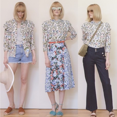 How to style your floral shirt