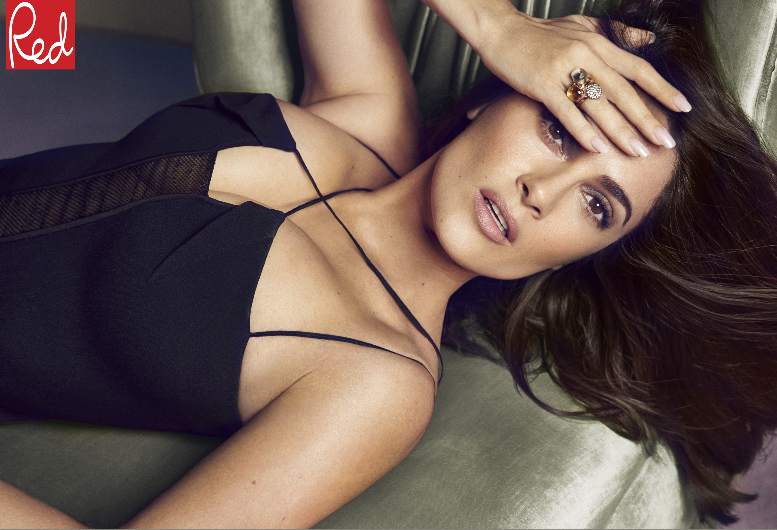 Salma Hayek | Red cover interview - Red Online