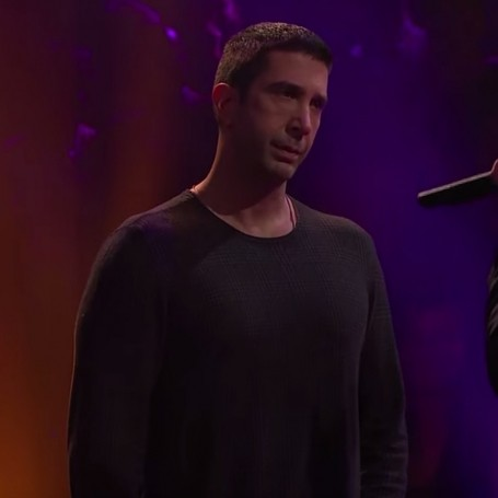 David Schwimmer's rap battle with James Corden is genius