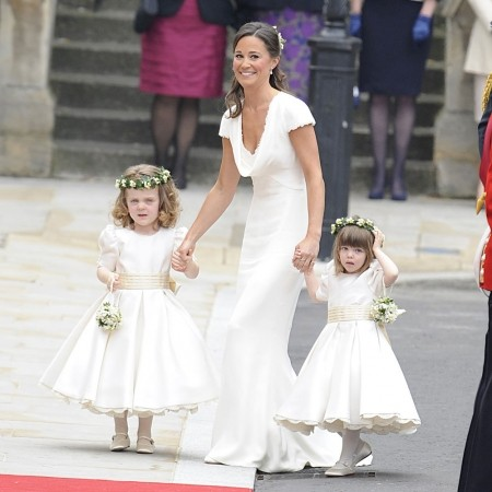 Pippa middleton bridesmaid dress wedding dress for Knock off kate middleton wedding dress