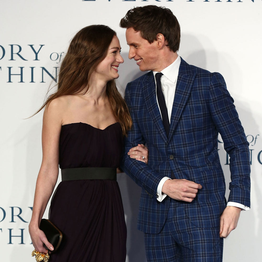 Hannah Bagshawe and Eddie Redmayne welcome their first ...