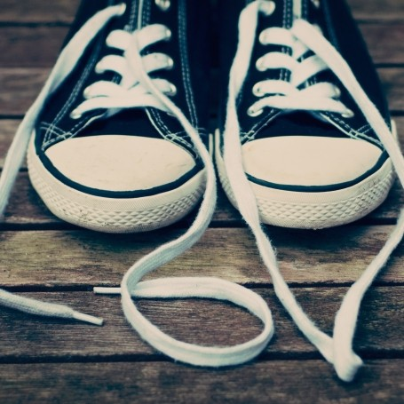 What the holes in the side of your Converse trainers are for
