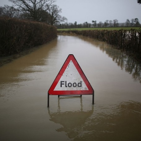 Where's the heatwave? Flash floods hit the UK