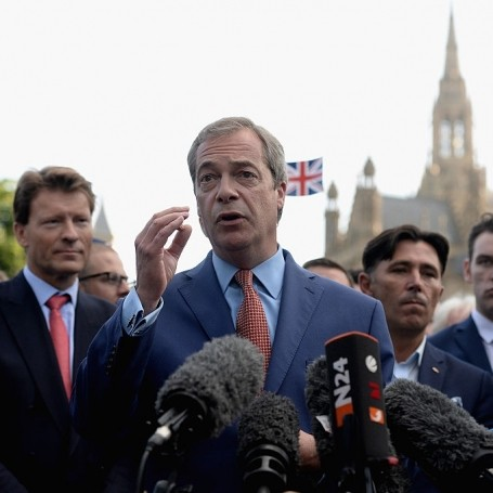 Nigel Farage backtracks on the NHS pledge
